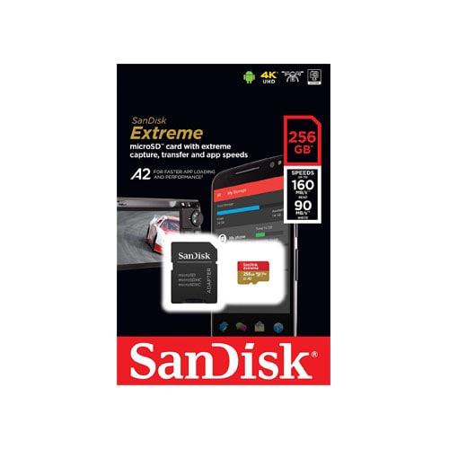 SanDisk Extreme MicroSDXC UHS-I 256GB